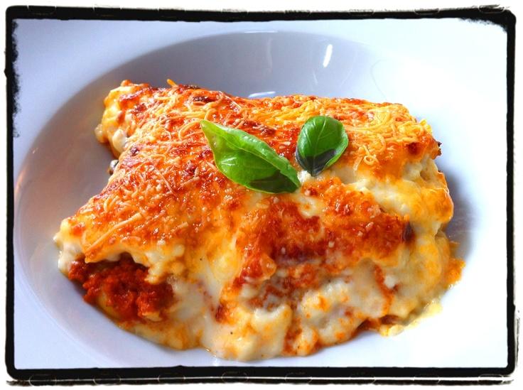 Cannelloni met gehakt en spek