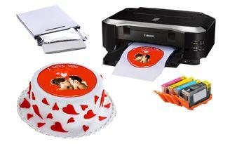 Impresora, tinta y papel comesitble!