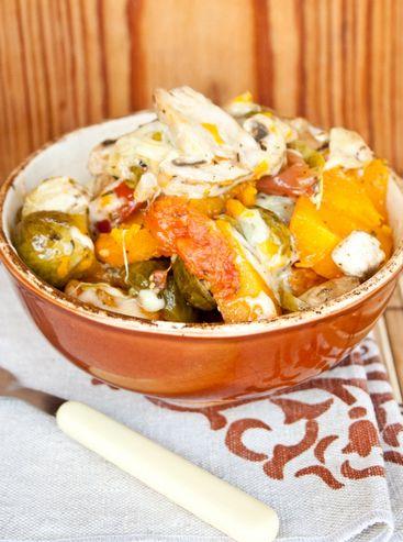 Запеченные осенние овощи с розмарином - рецепт | Диетические низкокалорийные рецепты - блюда правильного питания на Dietplan.ru