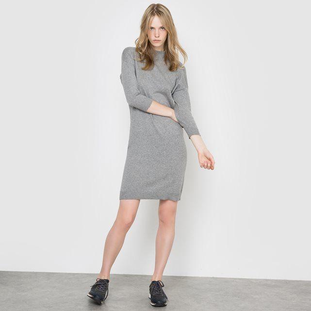 Other Image Swetro sukienka z golfem z bawełny i kaszmiru R essentiel