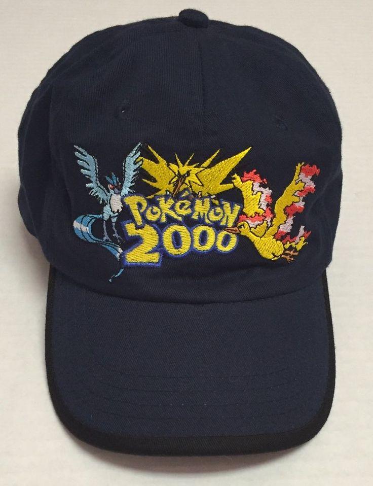 Pokemon 2000 Hat Legendary Birds Moltres Articuno Zapdos Youth Nintendo #Headstart #BaseballCap