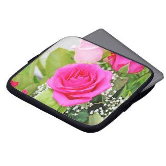Floral Laptop Cover Computer Sleeve
