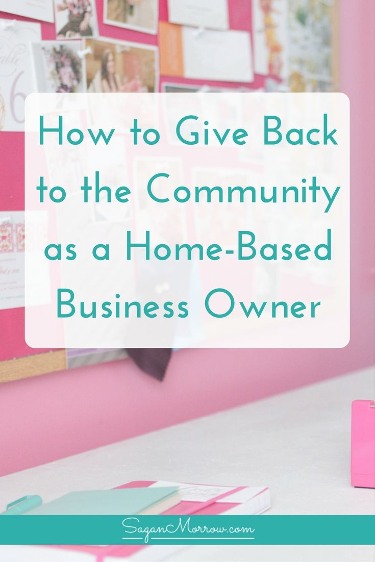 Learn 3 ways for how to give back to the community (plus tips on how to choose a charity/non-profit to donate to) in this article! Tips for home-based business owners who want to give back to their communities ::: donation tips ::: how to choose who to donate to :::