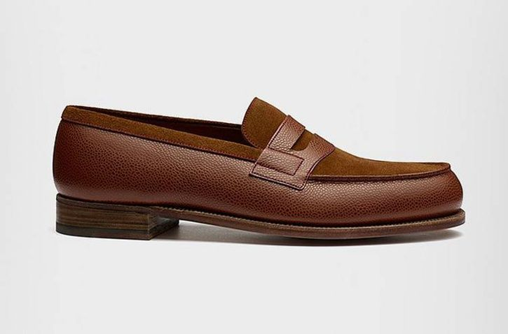 Weston : le mocassion 180 entre en collection en bi-matière