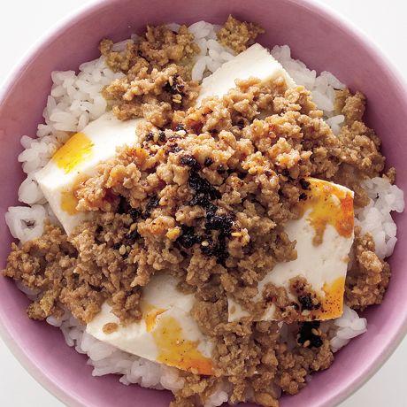 豆腐そぼろ丼 | 栗山真由美さんのどんぶりの料理レシピ | プロの簡単料理レシピはレタスクラブニュース