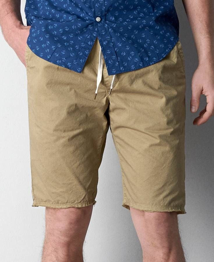 Khaki Joggers Shorts - The Else