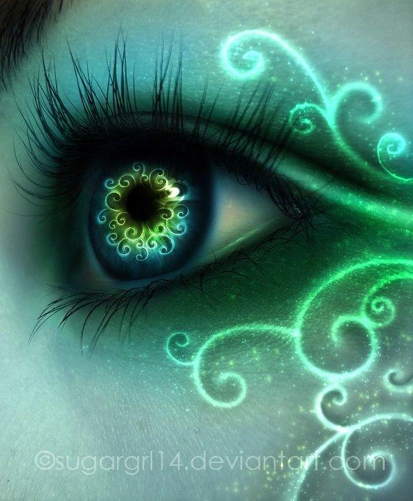Cool Eye Designs   Found on blog.fly51fly.com