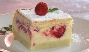 Gâteau à la vanille et framboise avec Thermomix