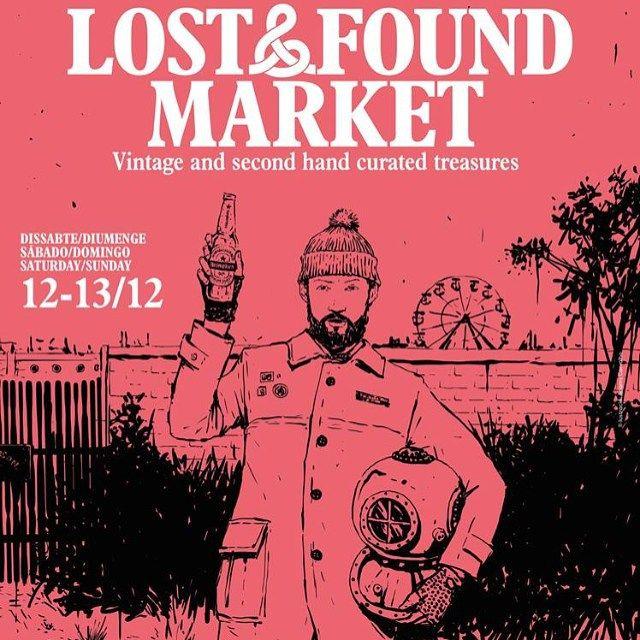 No os olvidéis!!!! Mañana estaremos en Lost&Found Market!!!! Todo el que quiera venir a vernos nosotras encantadas! En Estació de França, Barcelona. La parada dentro, cerquita de las vías. Os esperamos!!!! Muchos #lostandfound #lostfound #lostfoundmarket #lostfounders #lostandfounders #market #mercadillovintage #segundamano #segundavida #barcelona #estaciondefrancia #estaciodefranca #cositasbonitas #buenobonitobarato