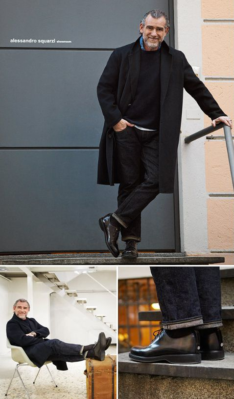 Alessandro Squarzi in WANT Les Essentiels Montoro derby shoes (via @mrporterlive)