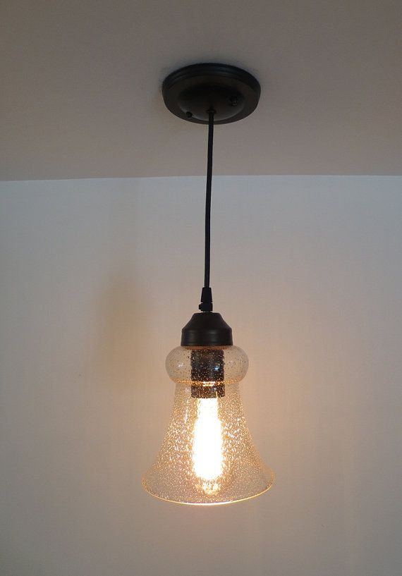 kelliport vintage seeded glass pendant light by lampgoods on etsy. Black Bedroom Furniture Sets. Home Design Ideas