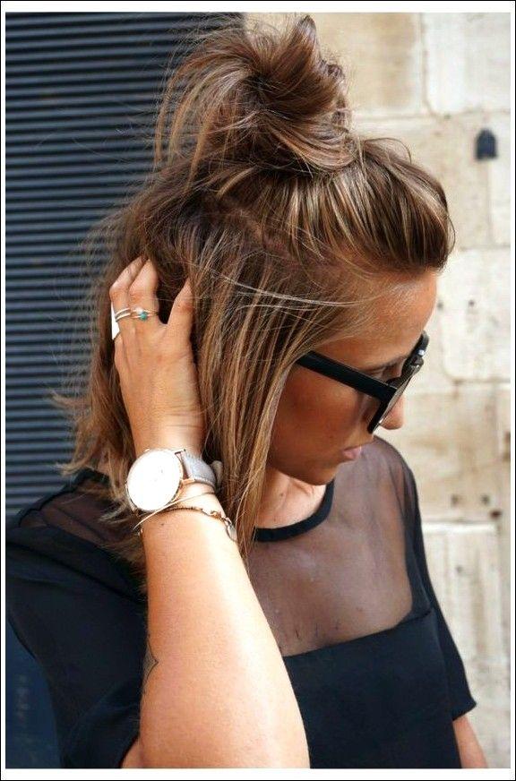 20 Lustige Brotchen Knoten Fur Den Sommer Beste Frisuren Dutt Frisur Kurze Haare Frisur Hochgesteckt Hochsteckfrisur