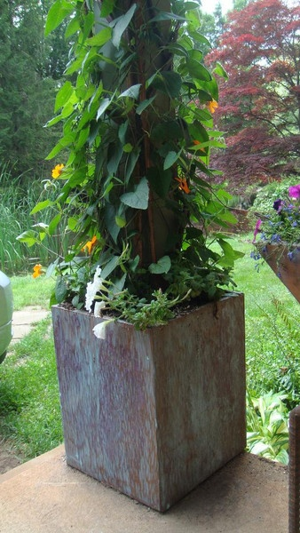 Wrap Around Planter Box Ranch Ideas Planter Boxes