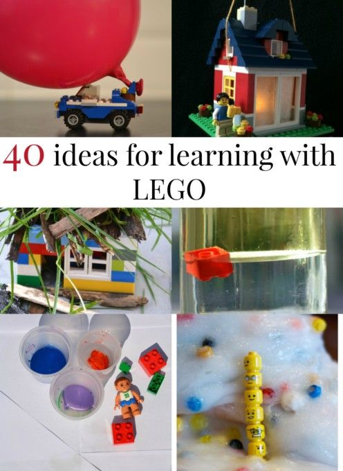 40 lego learning activities.