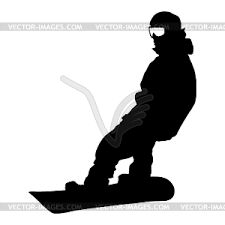snowboarding silhouette - Google Search