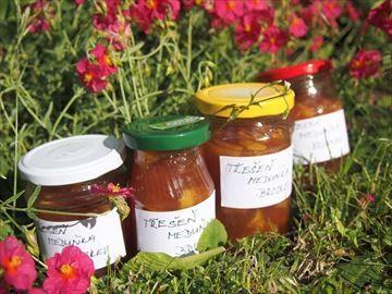 Zobrazit detail - Recept - Třešňová marmeláda s meduňkou