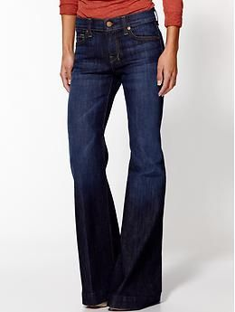 7 For All Mankind The Petite Dojo Trouser Jean | Piperlime                                                                                                 SO  CUTE!!!! LOVE THESE!!!