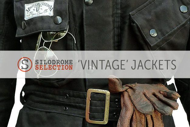 Bunch of cool looking, vintage-style motorcycle jackets by James McBride, Silodrome.