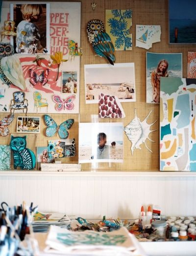 This inspires me to do some color coordinating on a mood board in the office! Love the owls