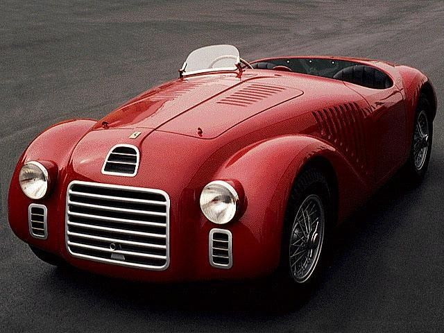 The Ferrari 125 S (Sport) V12 (1947), the first racing sports car built by and bearing the Ferrari name
