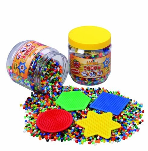 Hama / Complete Fuse Bead Starter Set with 5,000 Beads by Malte Haaning Plastic A/S, http://www.amazon.com/dp/B001UQ6DYA/ref=cm_sw_r_pi_dp_CWtgrb10CSQ3V