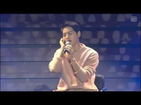 160521 송중기 Song Joong Ki FM sing '정말 Really' Innocent Man OST 차칸남자 OST