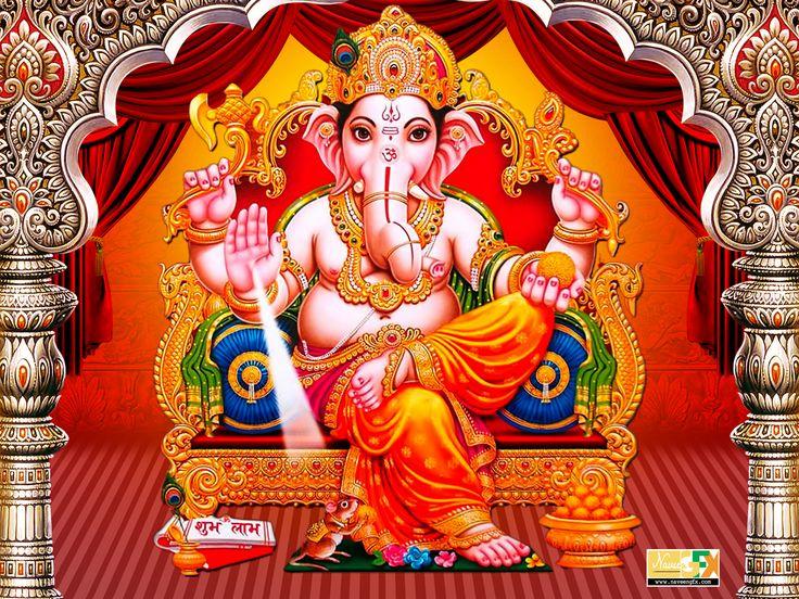 Lord ganesha HD images wallpapers free downloads - naveengfx