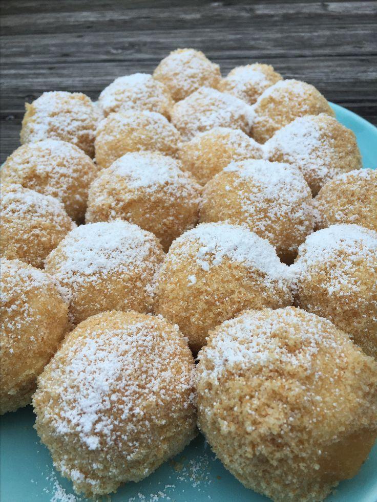 Sweets for my sweet ❤️! http://www.die-kuecheninsel.at/marillenknoedel-aus-topfenteig/