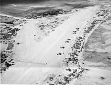 Long range aircraft at Hawkins Field on Betio (Tarawa Atoll) March 1944