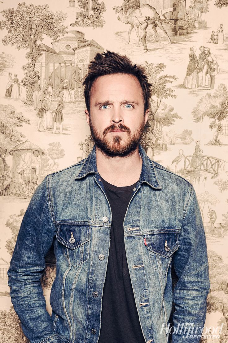 Aaron Paul for Hollywood Reporter Emmys Issue, by Ramona Rosales.