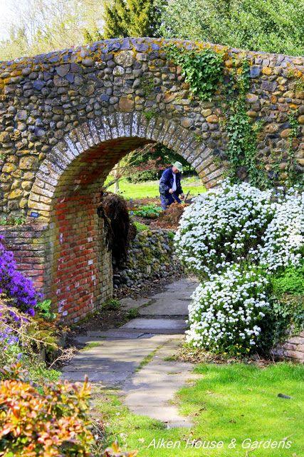 Bressingham Gardens Inn in Norfolk, England -home to the famous late Alan Bloom