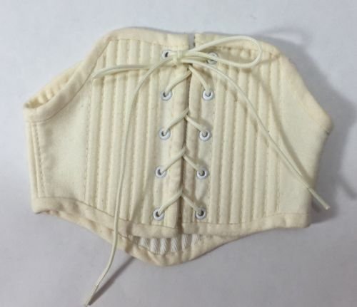 Felicity American Girl Doll Colonial Undergarments Stays Corset Only Retired