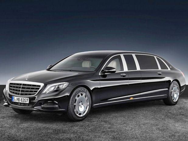 Der massive Mercedes-Maybach S 600 Pullman Guard! #mercedes #maybach #s600 #guard #luxuslimousine #stretchlimousine #staatslimousine #panzerung