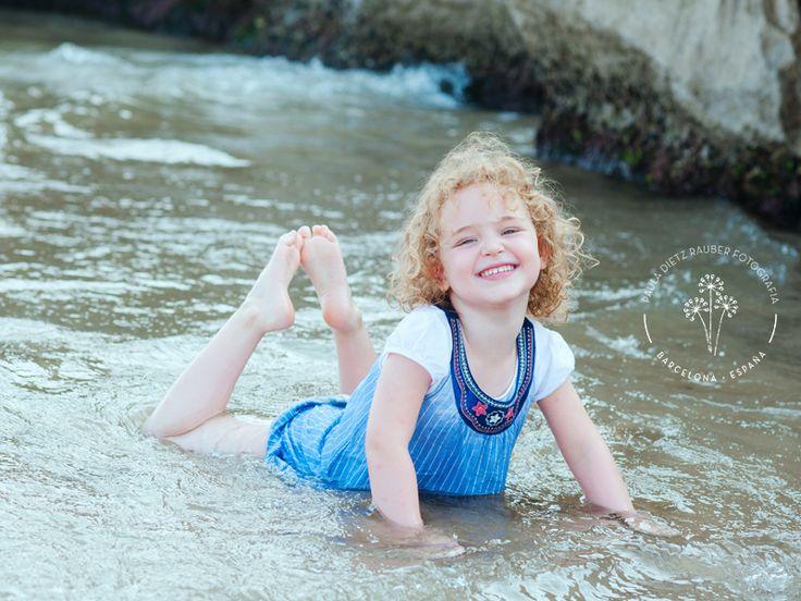 foto realizada en la playa.  #fotos #niños