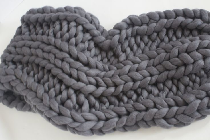 Best Super Chunky Knit Blanket at Affordable Rates. http://www.saintwools.com/