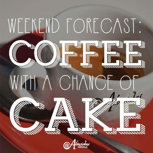 Something the local weatherman didn't tell you! #weekend #TGIF #alowishus #bundaberg #cafe #coffee #cake
