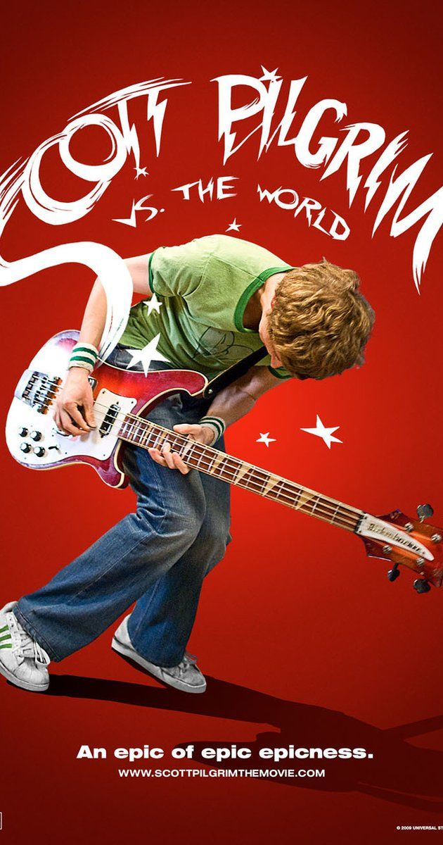 Directed by Edgar Wright.  With Michael Cera, Mary Elizabeth Winstead, Kieran Culkin, Alison Pill. Scott Pilgrim must defeat his new girlfriend's seven evil exes in order to win her heart.