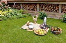 Zobacz zdjęcie ogrodowe dekoracje, ogrodowy wypoczynek, kosze wiklinowe, misy na owoce, figurki