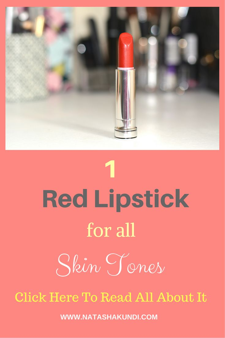 ArtOnIt Makeup: The Red Lipstick For All Skin Tones