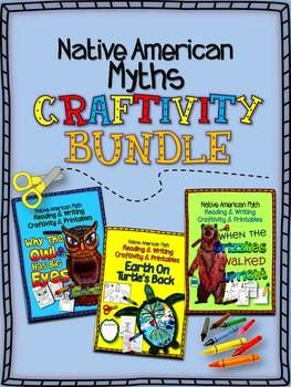 Native American Myths: Craftivity and Printables Bundle