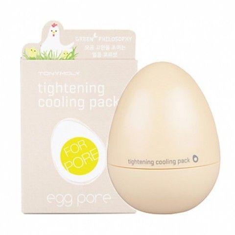 Маска для очищения пор Tony Moly Egg Pore Cooling Pack. 30 мл - купить в Москве, описание, фото, отзывы