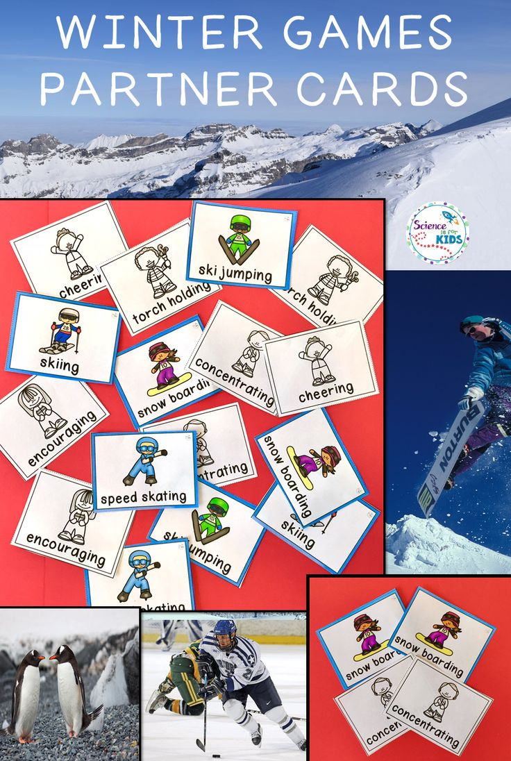 Looking for a Winter Games 2018 activity that will engage your students? These partner cards featuring Winter Olympic Sports can be used again an again. They can be used to pick partners, as a brain break, a concentration game and many other activities. They focus on the sports and on character traits of olympic athletes. Print and use!