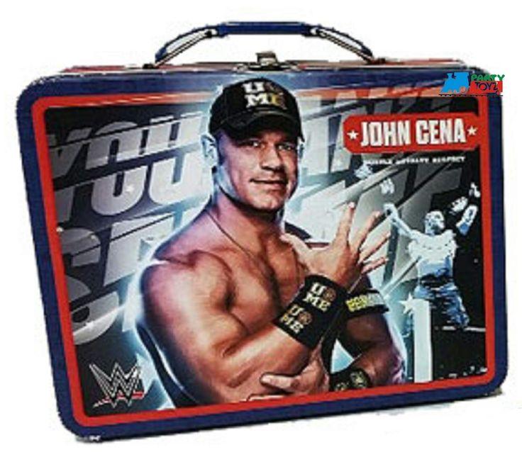 Partytoyz Inc. - WWE Square Carry All Tin Lunch Stationery Box - John Cena, $7.99 (http://www.partytoyz.com/wwe-square-carry-all-tin-lunch-stationery-box-john-cena/)