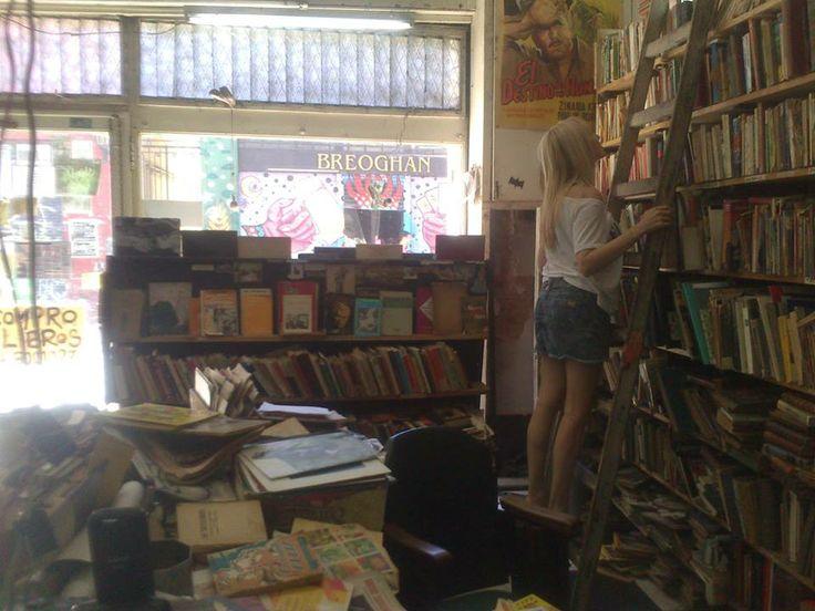 A pesar de las librerías y las escaleras.