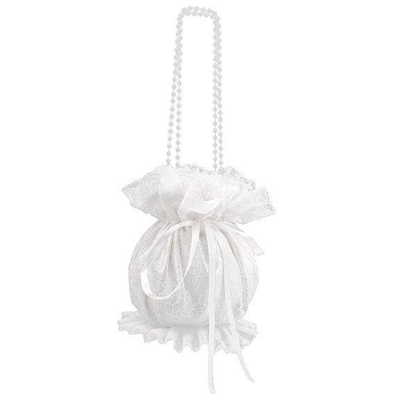 bride wristlets bag bridal clutch bag wedding by FashionForWomen