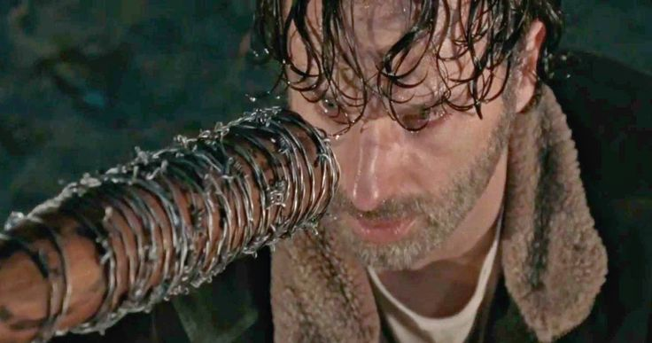 Does This 'Walking Dead' Video Confirm Who Negan Killed? -- A new fan video goes through the Eenie Meenie line-up in 'The Walking Dead' Season 6 finale to show who Negan killed and how you missed it. -- http://movieweb.com/walking-dead-negan-death-revealed-video/