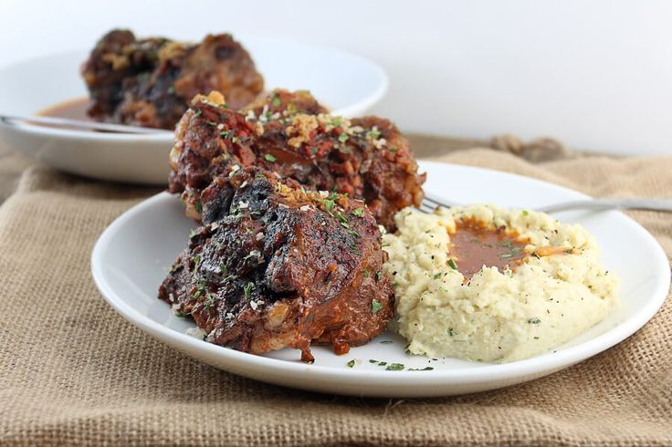 Keto Slow Cooker Braised Oxtails Recipe Oxtail recipes