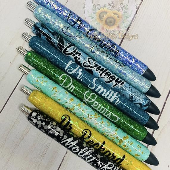 Custom Glitter Pen