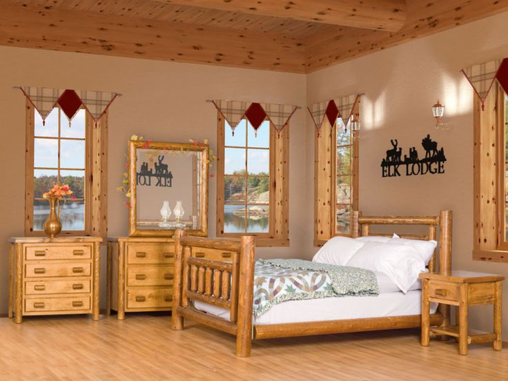 The 25+ best Log bedroom sets ideas on Pinterest | Bed designs in ...