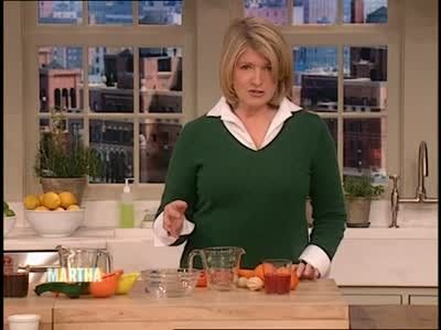Freshly Squeezed Fruit and Vegetable Juice - Martha Stewart makes fresh squeezed juice from oranges, grapefruits, pomegranates, and carrots in celebration of National Fresh Squeezed Juice Week.